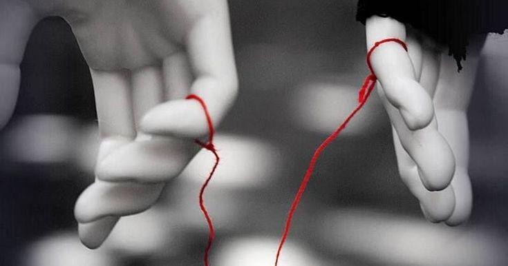 """El hilo rojo del destino también conocido como """"cordón rojo del destino"""", es una creencia de Asia oriental, presente en la mitología chi..."""