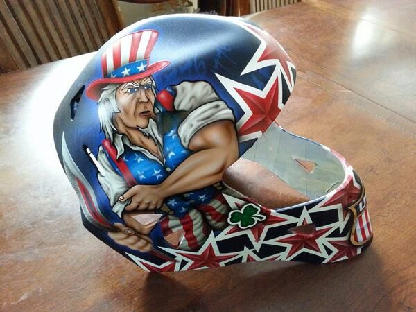 Buffalo Sabres and USA hockey goalie Ryan Miller unveiled the mask he plans on wearing at the Olympics