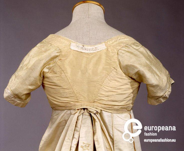 1800-1810 ca robe de gala Palazzo Pitti soie