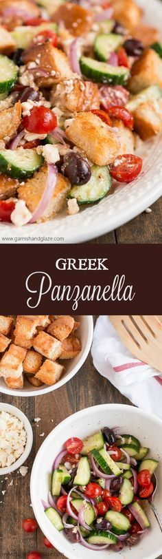 Greek Panzanella 25+ best panzanella recipe ideas on pinterest | what vegetables