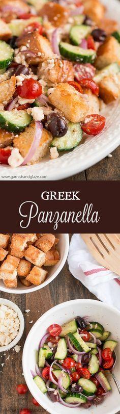 Greek Panzanella 25+ best panzanella recipe ideas on pinterest   what vegetables