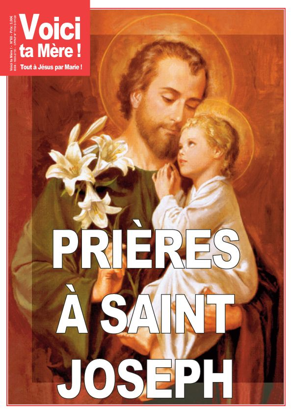 """Traditionnellement, le mois de mars est celui """"de saint Joseph"""". Afin de vous préparer à sa fête, nous vous proposons cette neuvaine à prier chaque jour en"""