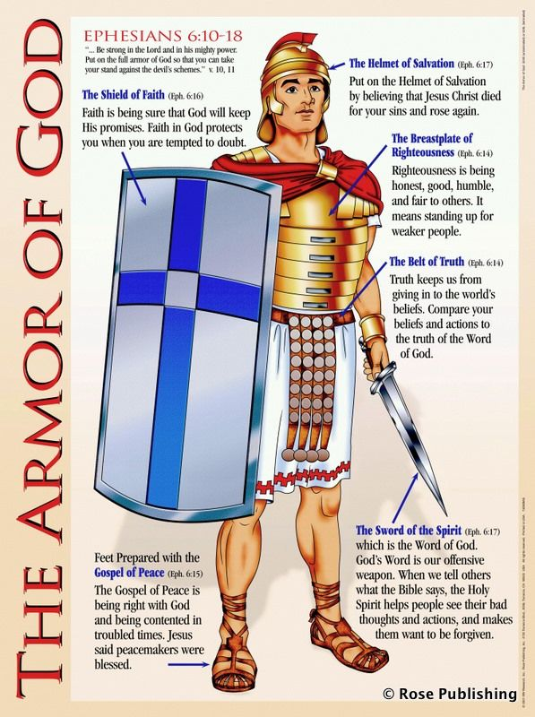 Put on the whole armor of God! http://christianculturecenter.com/fruit-shall-know/