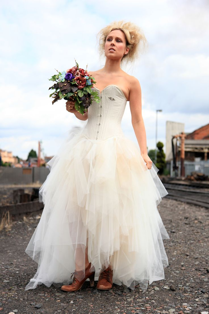 Best 25 punk wedding dresses ideas on pinterest steam punk wedding dress elegant punk style wedding dresses collection sweetheart steam fit and flare punk ombrellifo Images