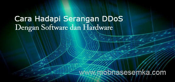 Bisnis yang terhubung ke internet rentan terkena serangan DDoS. Berikut beberapa cara hadapi serangan DDoS menggunakan hardware dan software.