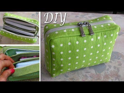 5b22616edbae (155) DIY Zipper Pouch Bag Tutorial • DIY BAG VIDEO TUTORIAL - YouTube