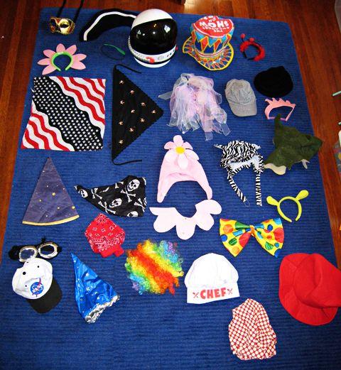 dress up box ideas