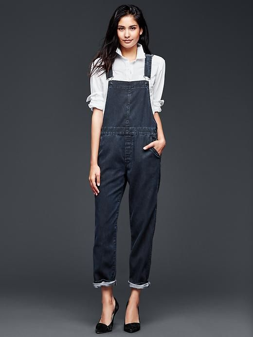 denim t overalls Products     Style  cropped personalised high low   and Gap shirt Overalls