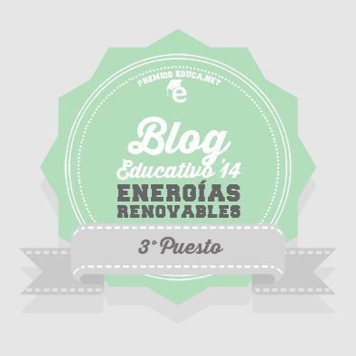 Tercer Puesto Energías Renovables Premios Educa 2014