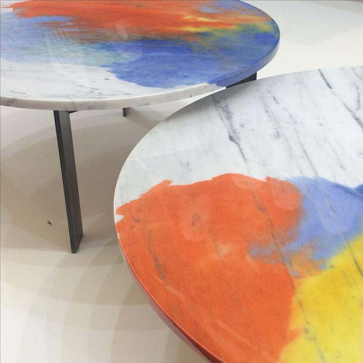 Great dyed marble from Silo Studios - Tom particularly loved these at the Future Heritage stand