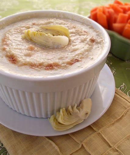Hot Artichoke Dip gluten-free & vegan - The Spunky Coconut gluten free ...