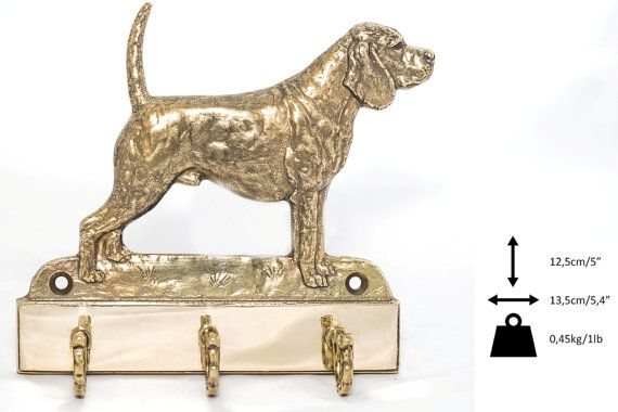 Beagle dog hanger for clothes limited edition by ArtDogshopcenter