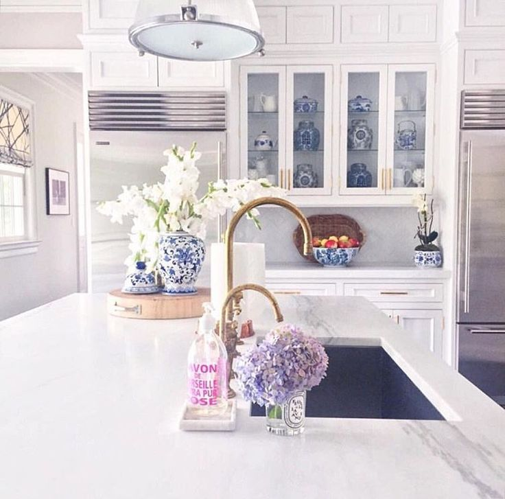 White Kitchen Layouts best 25+ blue white kitchens ideas on pinterest | blue country