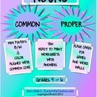 Do you have students who forget to capitalize proper nouns or capitalize common nouns?  These common and proper noun worksheets will help them reme...