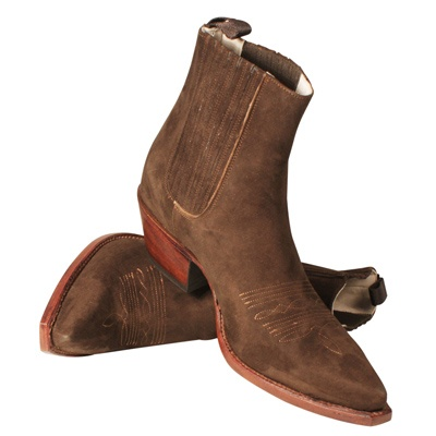 "R.Soles Boots, $362 - ""When I'm at home, my style is very casual. I live in these low cowboy boots."" Charlotte Gainsbourg