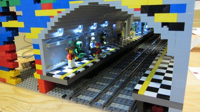 LEGO Montreal Metro Station