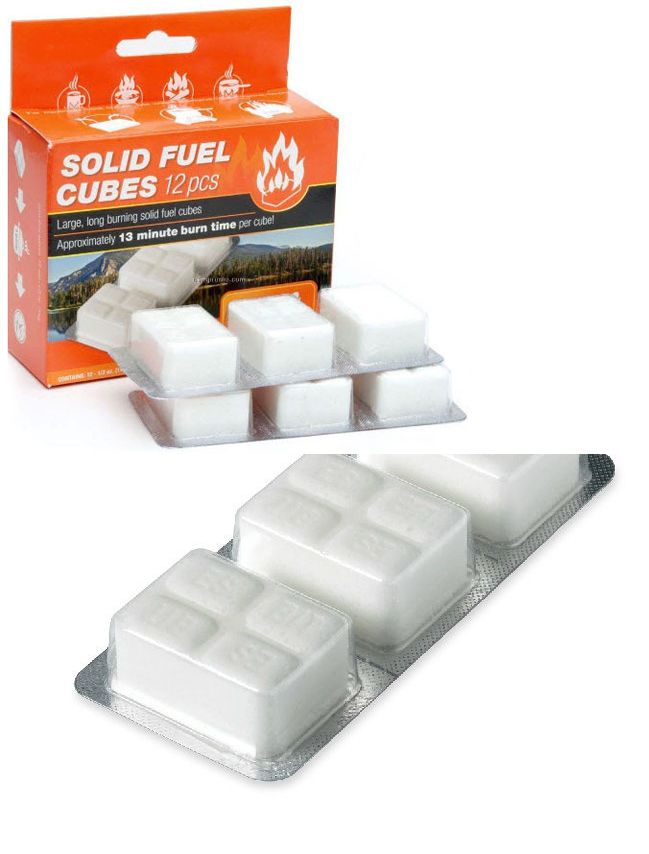 Parts and Accessories 181389: Esbit Solid Fuel Cube Tablets Camping Stove Fire Starter 12Pc X 14G -> BUY IT NOW ONLY: $99 on eBay!
