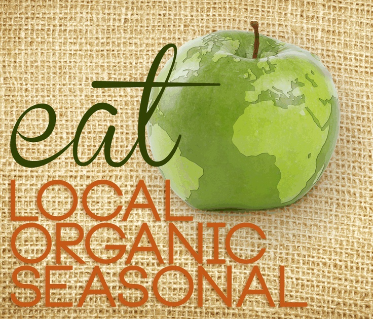 Green Tip: Eat Local, Seasonal and Organic!  Find a Farmers Market Closest to you! http://www.localharvest.org/