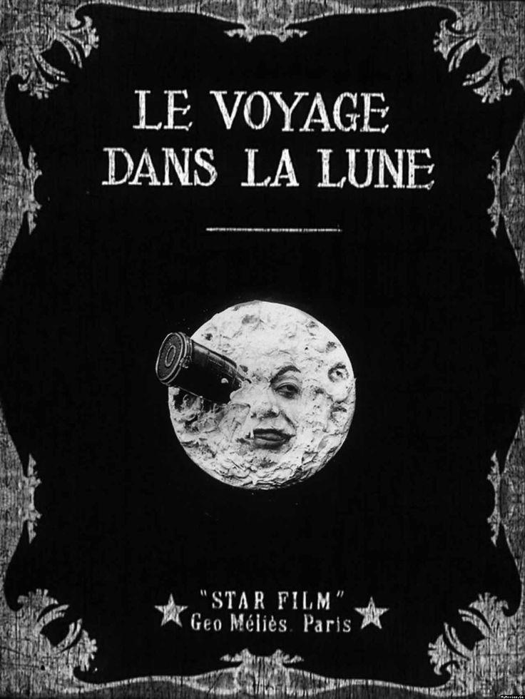 Ter voorbereiding: plof neer op de bank en bekijk een van de allereerste stomme films: Le Voyage Dans La Lune!