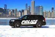 2016 Ford Police Interceptor Utility Barrels Into Chicago  Read more: http://wot.motortrend.com/1502_2016_ford_police_interceptor_utility_barrels_into_chicago.html#ixzz3RWdchdRV