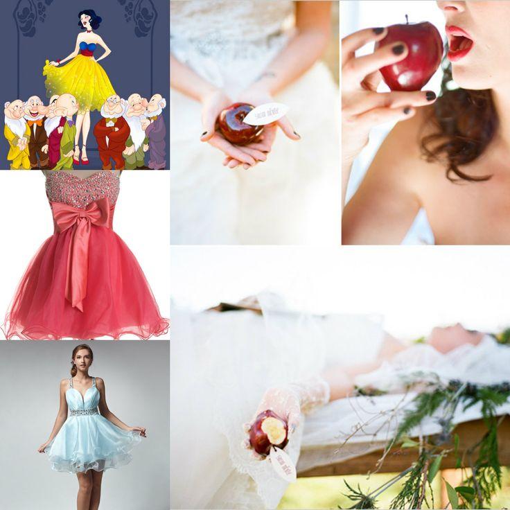 abiti da  ballo per il matrimonio biancaneve