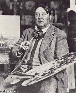 Maurice de Vlaminck Maurice de Vlaminck was a French painter. Along with André Derain and Henri Matisse he is considered one of the principal figures in the Fauve movement, a group of modern artists who from 1904 to 1908 were united in their use of intense color.