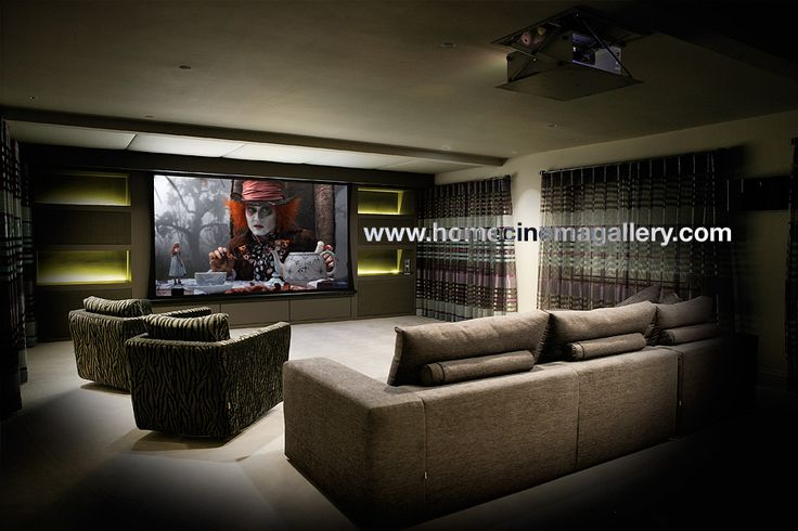 Pulse Cinemas, Home Cinema Gallery for High End, Bespoke, Themed, Luxury Home Cinema Systems Design and Installations in the UK - Africa - Europe - USA - Be inspired