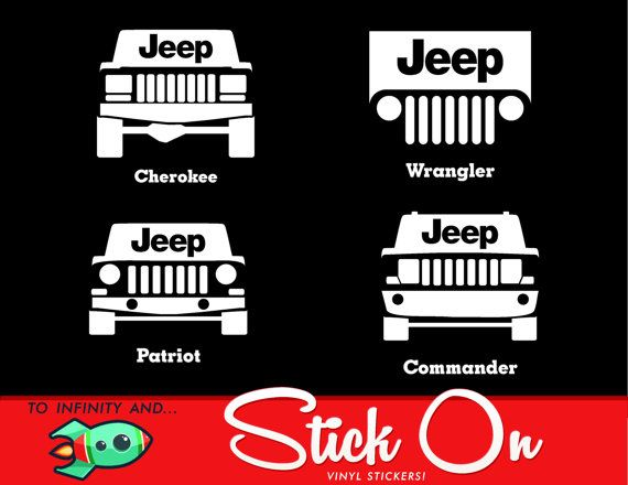 Jeep Cherokee Jeep Wrangler Jeep Patriot by ToInfinityAndStickOn
