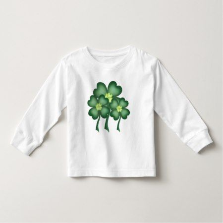 Saint Patrick's Day clover unisex toddler t-shirt - tap to personalize and get yours