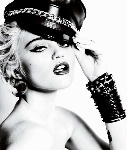 Modern Material Girl Captures - The Sky Ferreira for V Magazine Shoot Takes Inspiration From Madonna