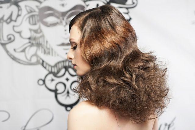 Wavy Hair #wavyhair #wavy #hair #boudoirhair #inoa #boudoirstudio