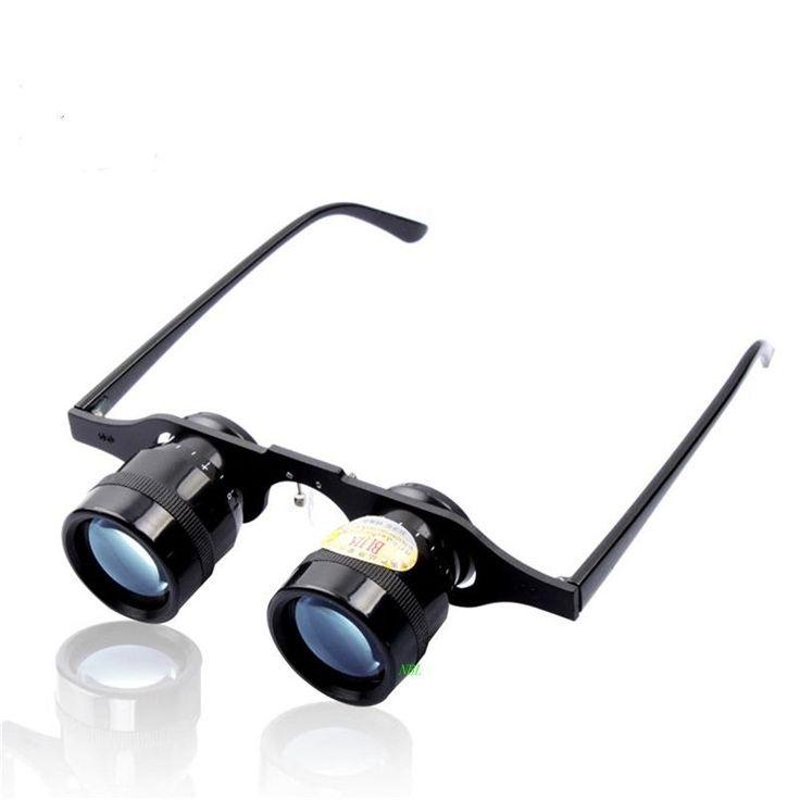 (34.99$)  Buy here  - Brand BIJIA 10x34MM Optics Lens Binoculars 10X Magnifying Bule Film Binocular Telescope Watching Opera Fishing Football Glasses