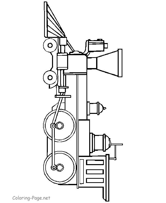 Train Coloring Page Old Engine Train Coloring Pages Coloring
