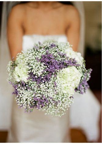 baby's breath and lavendar - Google Search