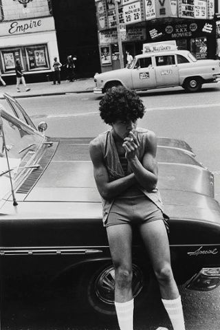 Untitled (42nd Street Series), 1978. Photograph: Larry Clark/ Luhring Augustine, New York