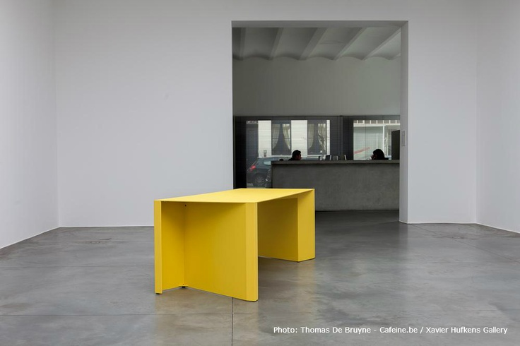 Great huge table. Is it good for collaboration, I wonder...1x Z-Table (by CLAIRE BATAILLE & PAUL iBENS for BULO). --- © BULO - All Rights Reserved.