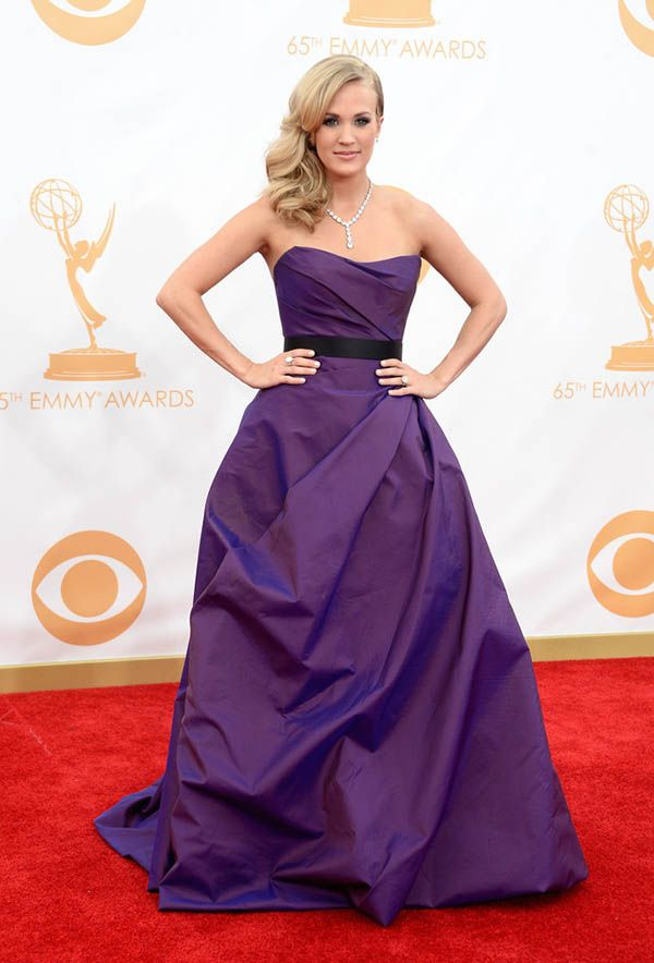 Carrie Underwood at Emmy Awards 2013 ceremony