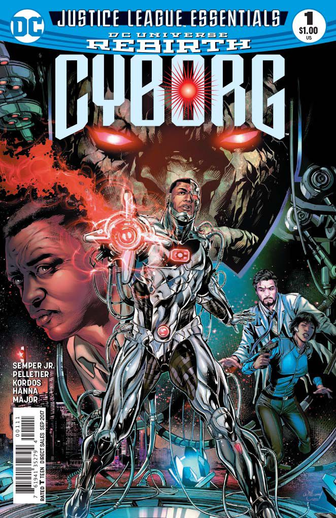 DC Justice League Essentials: Cyborg Rebirth #1 - The Imitation of Life, Part One: Awakening!