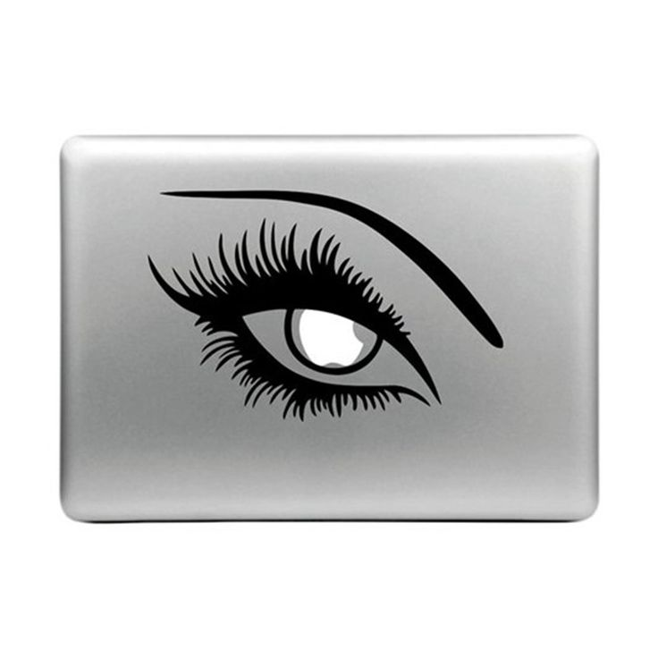 Dnven eye for macbook decals skin stickers for apple macbook air pro 11 12 13