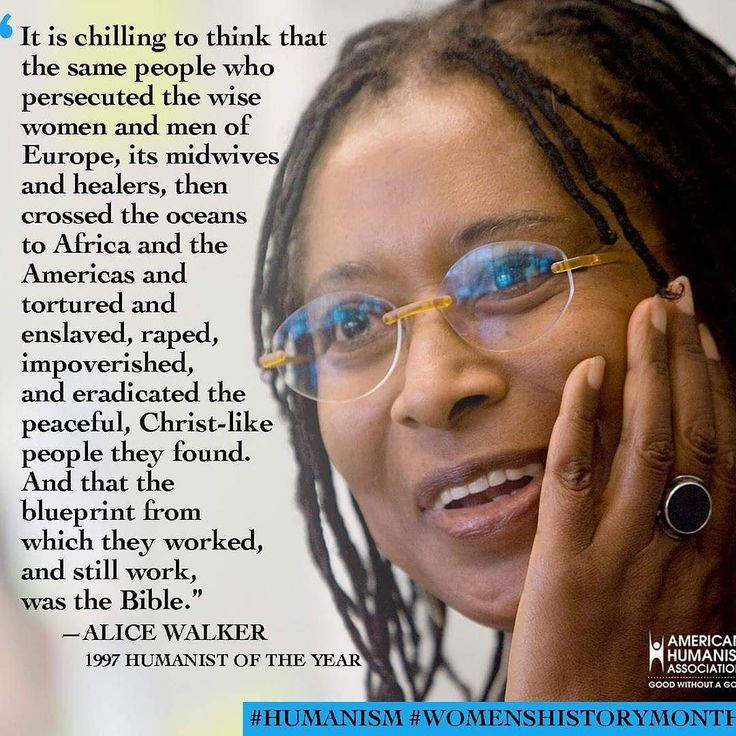 The chilling blueprint of the bible. -- Alice Walker