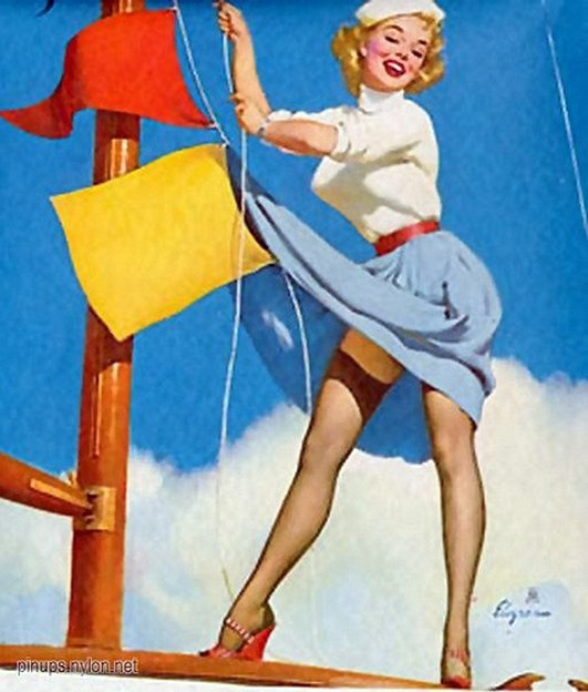 Art Of The Pinup: Pin On The Art Of Gil Elvgren