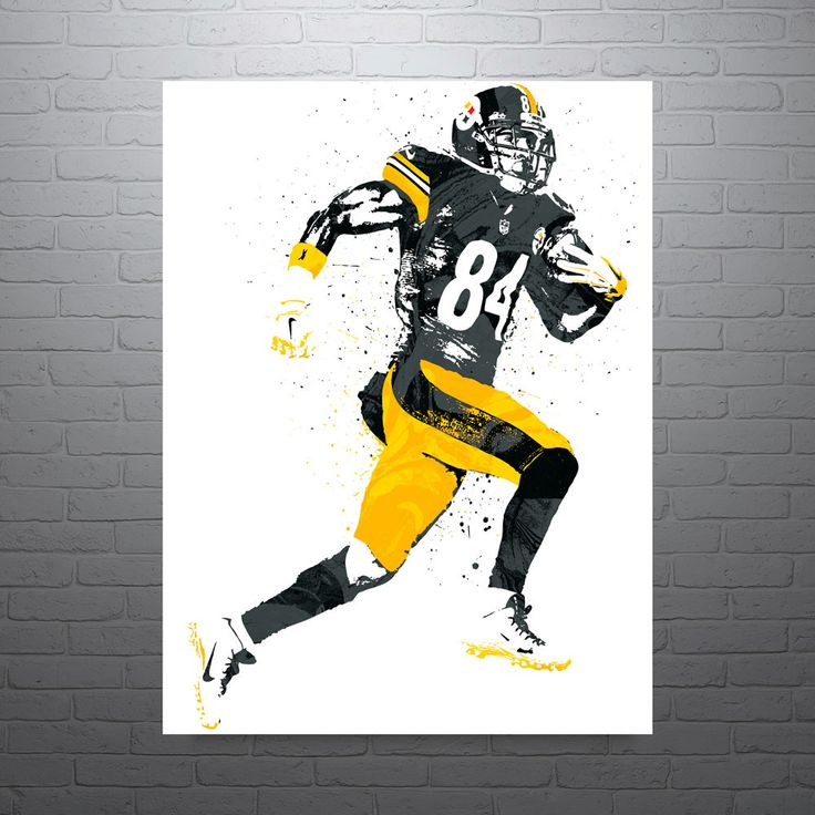 Antonio Brown Pittsburgh Steelers Poster