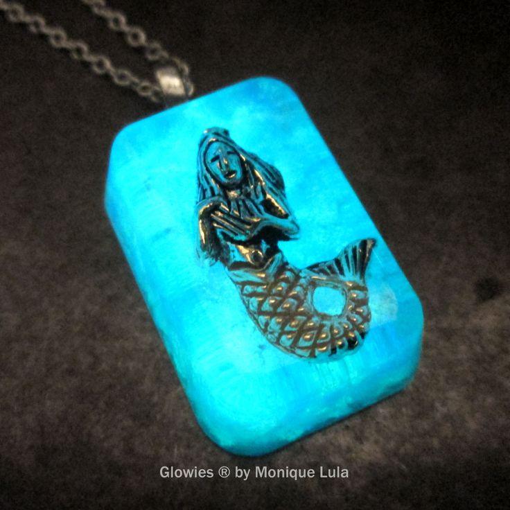 Frozen Mermaid Glow Opal Necklace