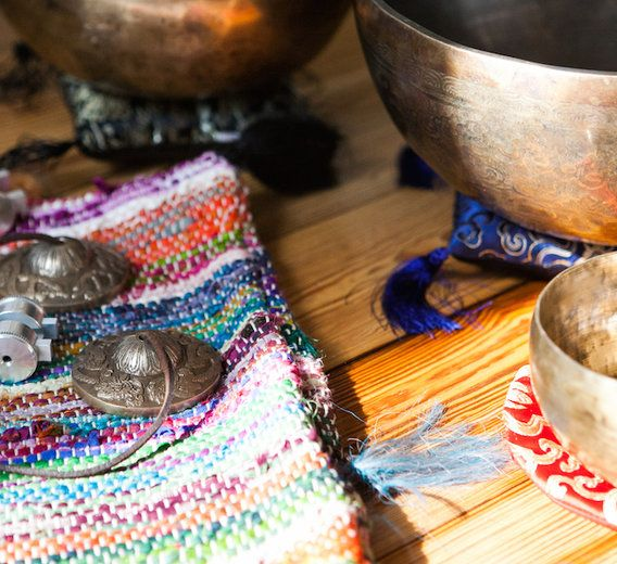 """Sound Healing: What It Is + How To Use It To Relieve Anxiety. Sound baths are a great way to get """"in tune"""" with yourself."""