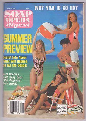 Soap Opera Digest 1989 June 13