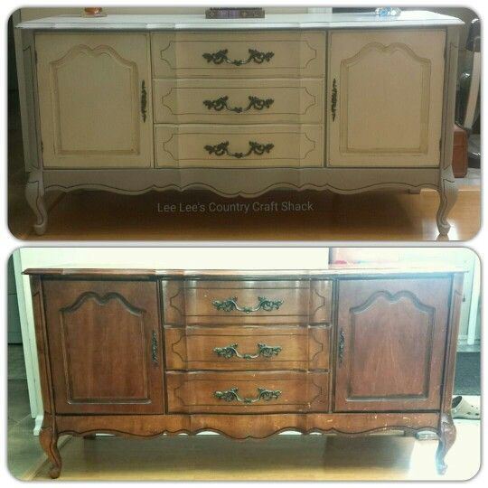 Sideboard revamp. This beauty has been painted in Paris Grey and Old White chalk paint. I have painted the insides of the cupboards and the sides of the drawers in a teal blue Chalk Paint. Has been sealed with both light and dark wax.