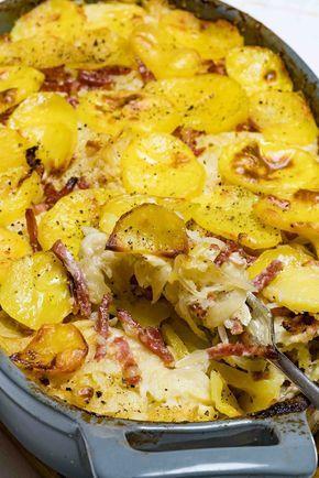 stuttgartcooking: Sauerkraut-Kartoffel-Auflauf