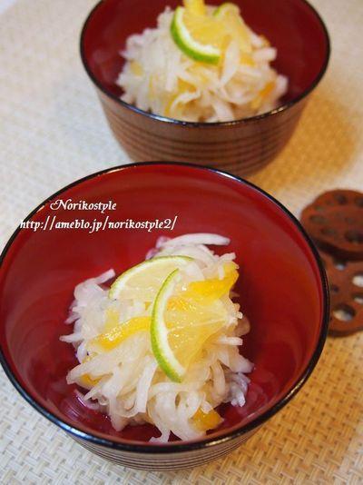 かぼす爽やか♪柿なます by 紀子さん | レシピブログ - 料理ブログの ...