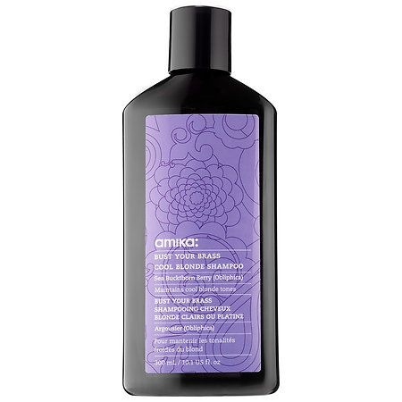 Shop amika's Bust Your Brass Cool Blonde Shampoo at Sephora. The ultra-violet, brass-fighting shampoo delivers bright and shiny, cool-toned results.