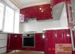 кухня с акриловым рисунком Симферополь
